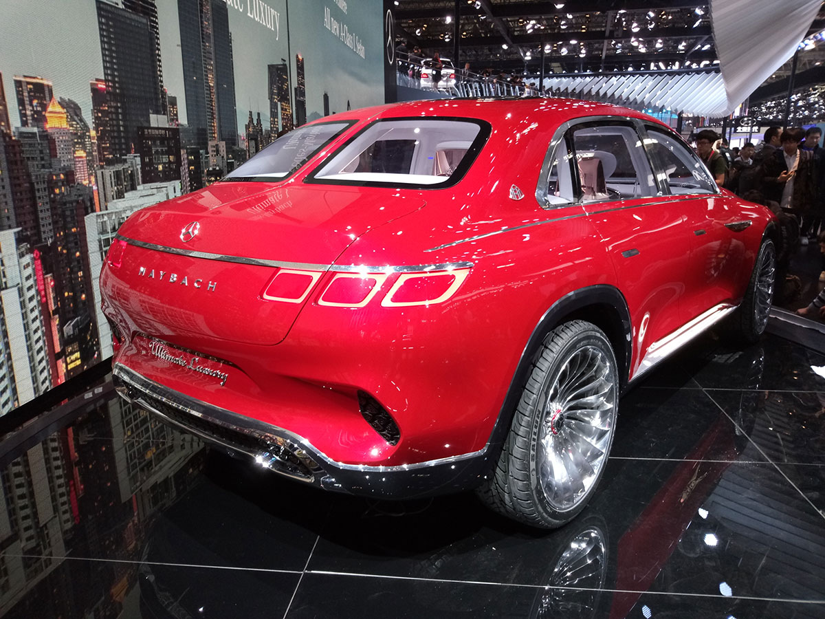 Mercedes Maybach Ultimate Luxuryy