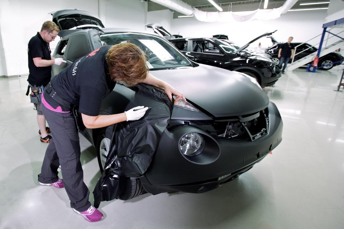 Как выбрать качественный винил на авто?