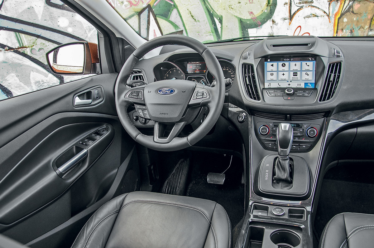 Форд куга в базовой комплектации фото