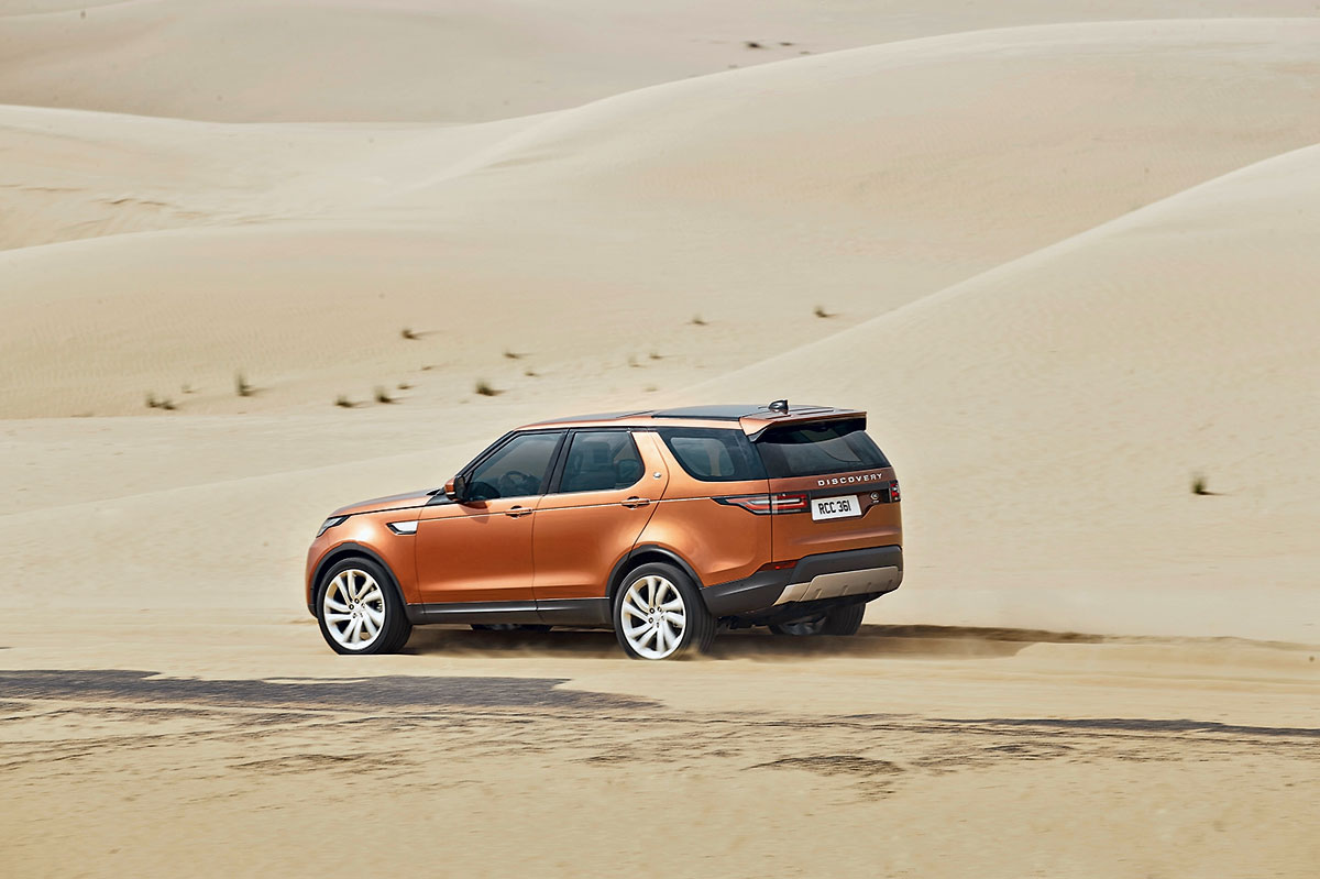 Land Rover Discovery фотография