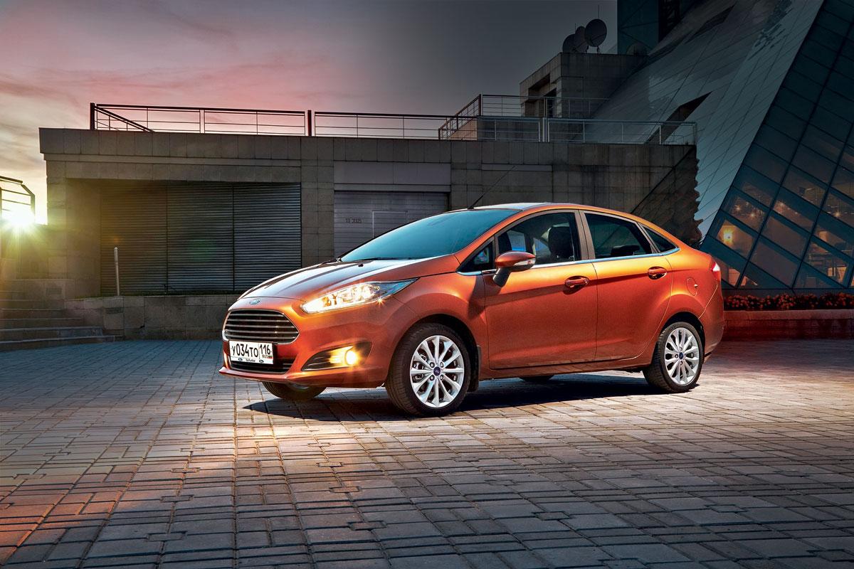 Ford Fiesta. Праздник к нам приходит