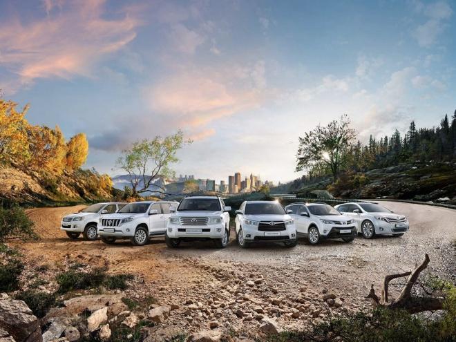 Осенний внедорожный сезон с Toyota