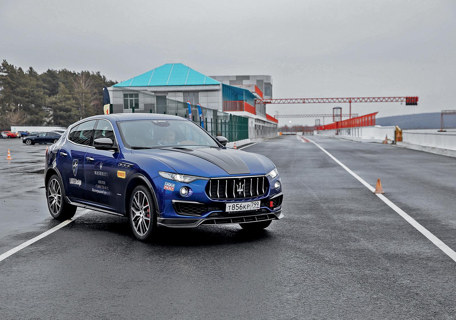 Тест-драйв обновленного Maserati Levante. Трезубец в спину конкурентов