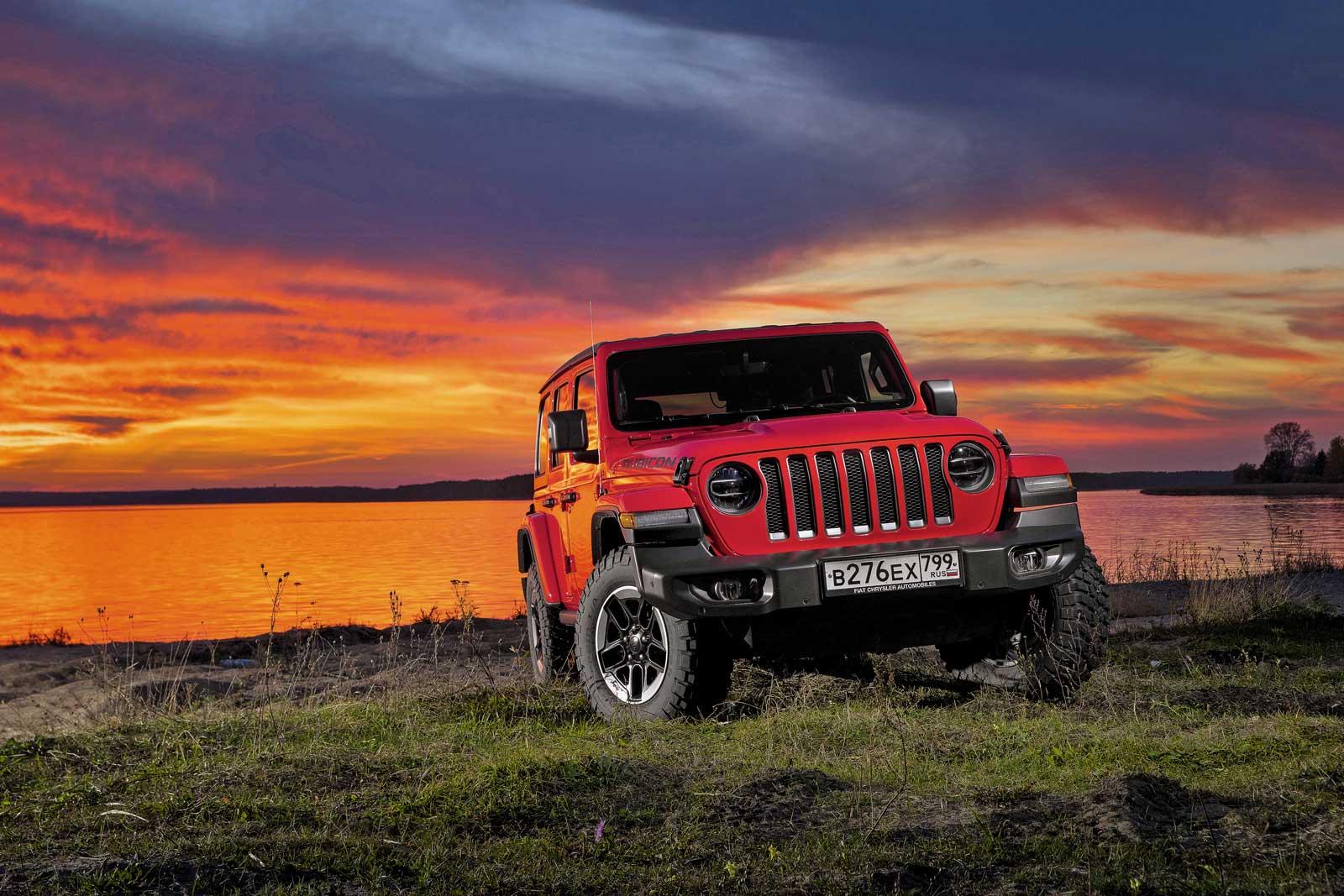 Тест-драйв Jeep Wrangler Unlimited Rubicon: это вам не УАЗик!