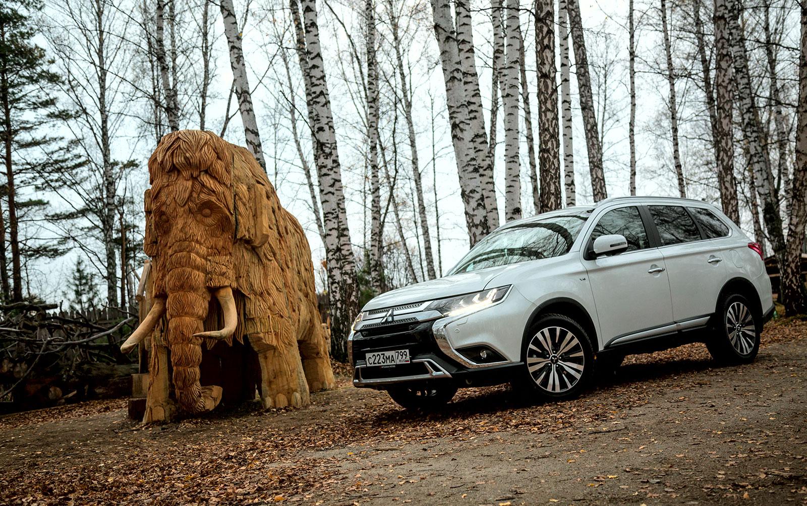 Тест-драйв обновлённого Mitsubishi Outlander – четвёртый рестайлинг
