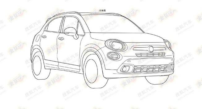 В сети появились изображения кроссовера Fiat 500X