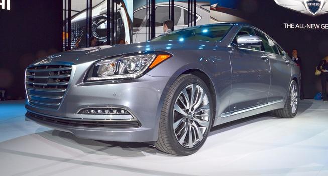 В Детройте дебютировал второй Hyundai Genesis