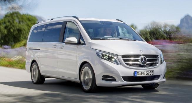 Mercedes-Benz представили V-Class