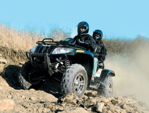 Arctic Cat ATV 2010. Больше экстрима