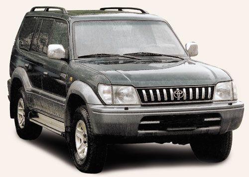 По винтику. Toyota Prado (с 1996 г.)