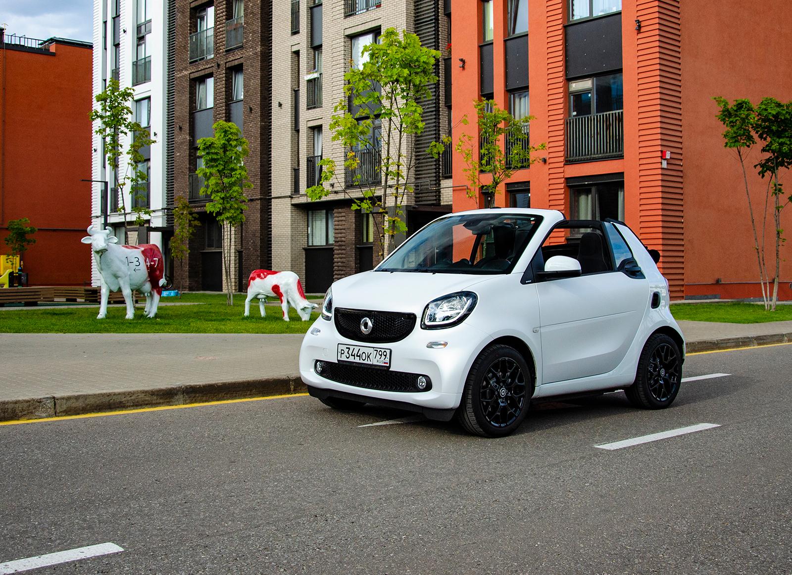Тест-драйв Smart Fortwo Cabrio. Три водителя, три мнения