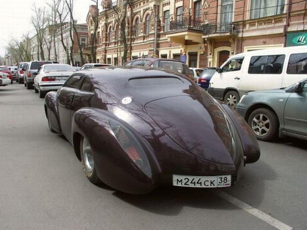 GAZ-21 Concept. Как из Toyota Crown сделали Супер-Волгу