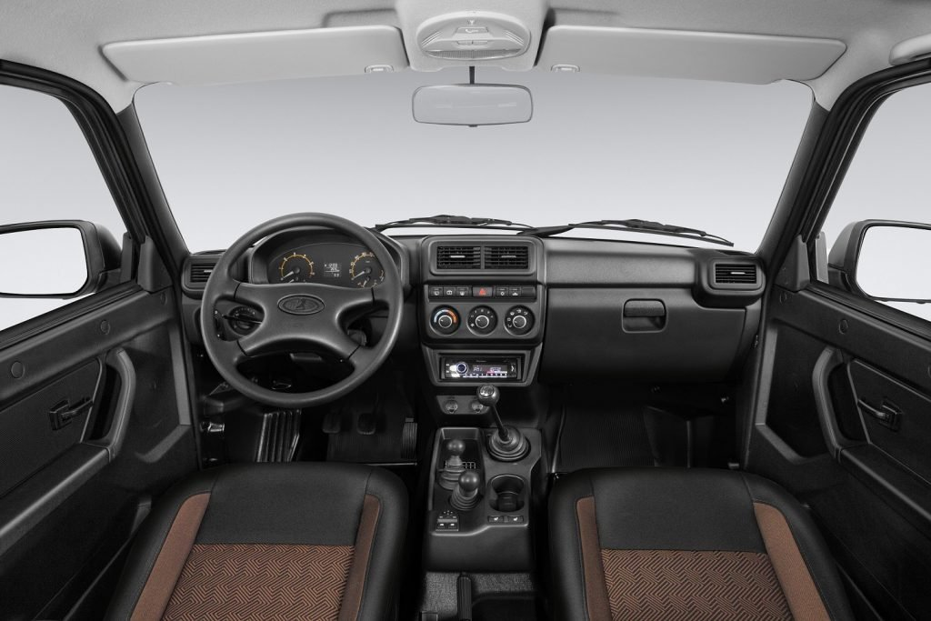 Названа цена обновлённой Lada 4×4