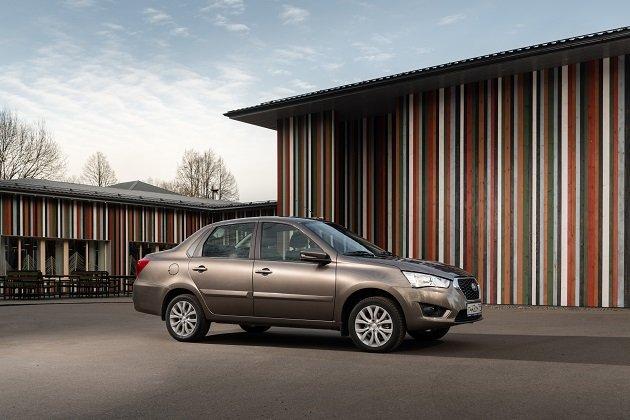 В России начались продажи обновленного седана Datsun on-DO