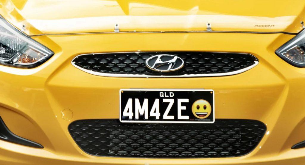 Не смеха ради: американцам позволят автомобильные номера со смайликами