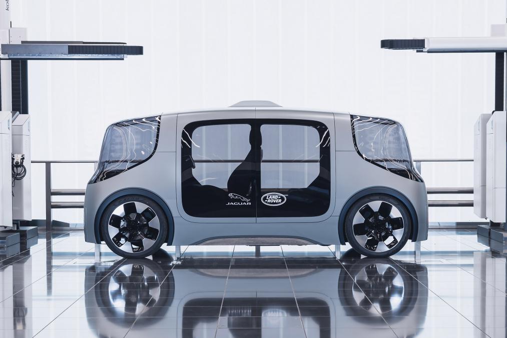 Jaguar Land Rover готовит к испытаниям автономный аппарат Project Vector