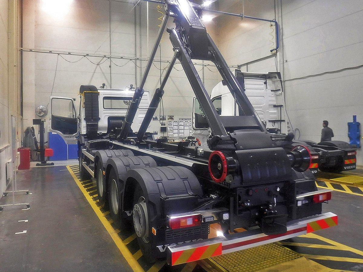 Необычные грузовики Volvo: шедевры из железа