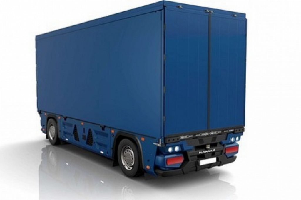 КАМАЗ запатентотвал  беспилотный грузовик без кабины