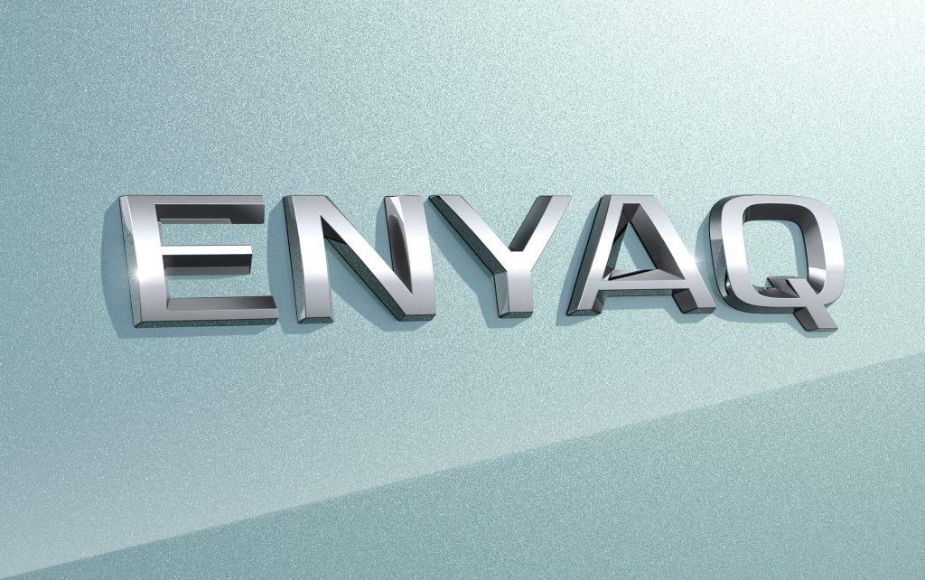 Полностью электрический кроссовер Skoda получил имя Enyaq