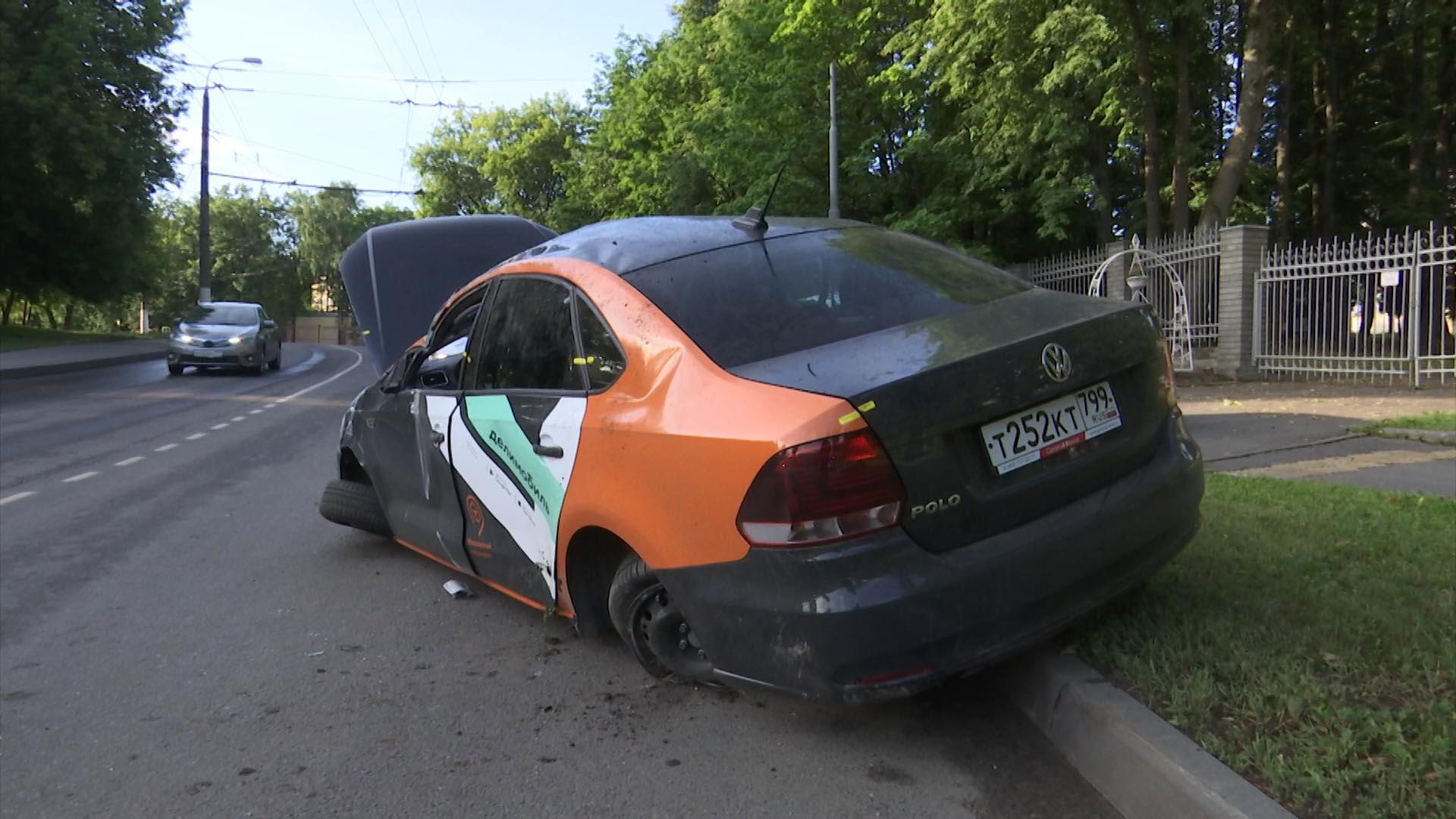 Количество аварий с участием каршеринга в Москве выросло в 2,5 раза