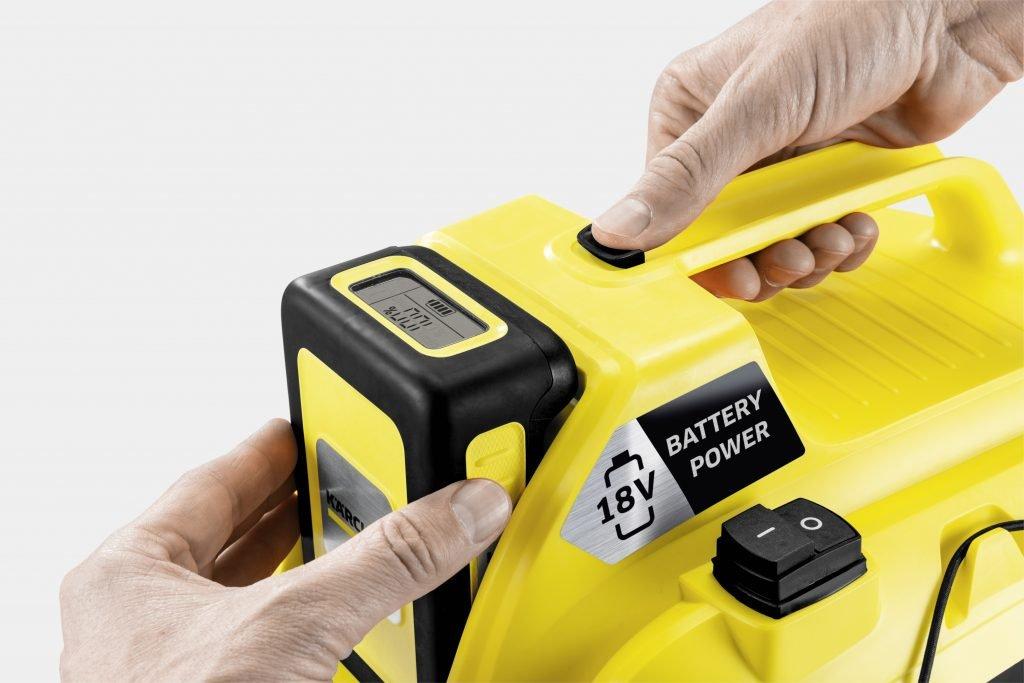 Аккумуляторный пылесос WD 1 Compact: универсальный помощник