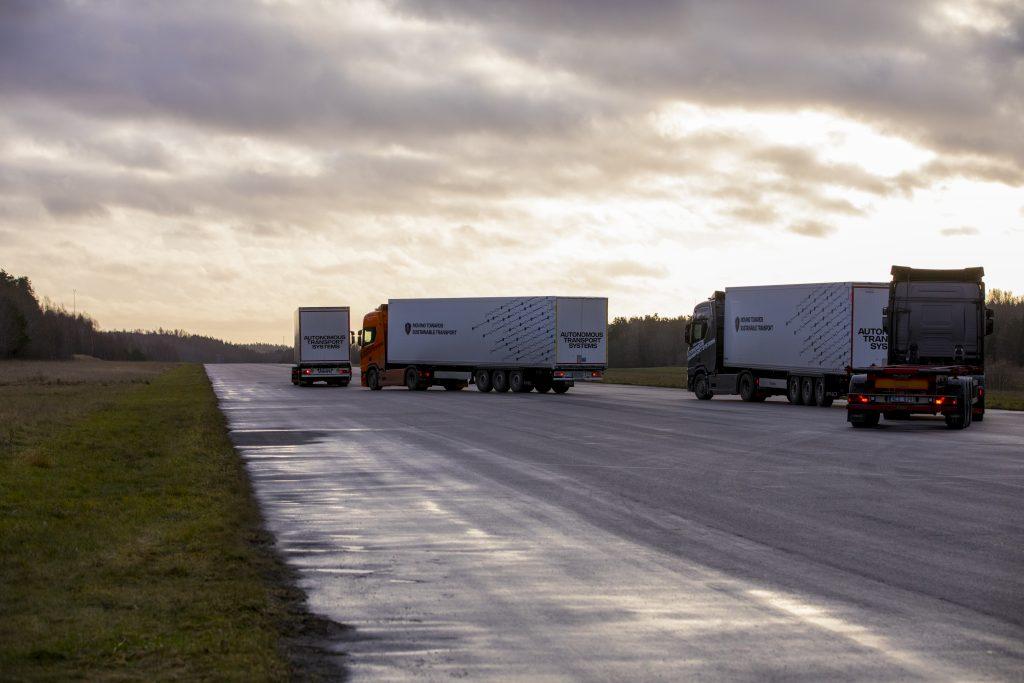 Поедут караваном: Scania готовится к тестированию платунинга в России