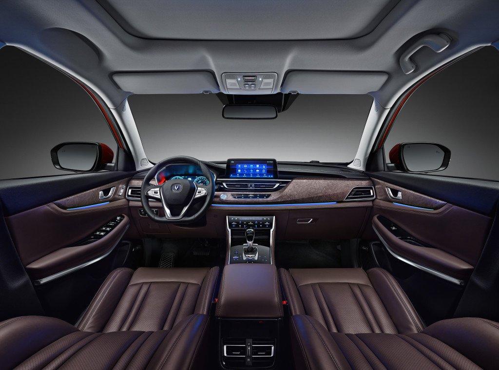 Обновлённый Changan CS75 появился в российских автосалонах