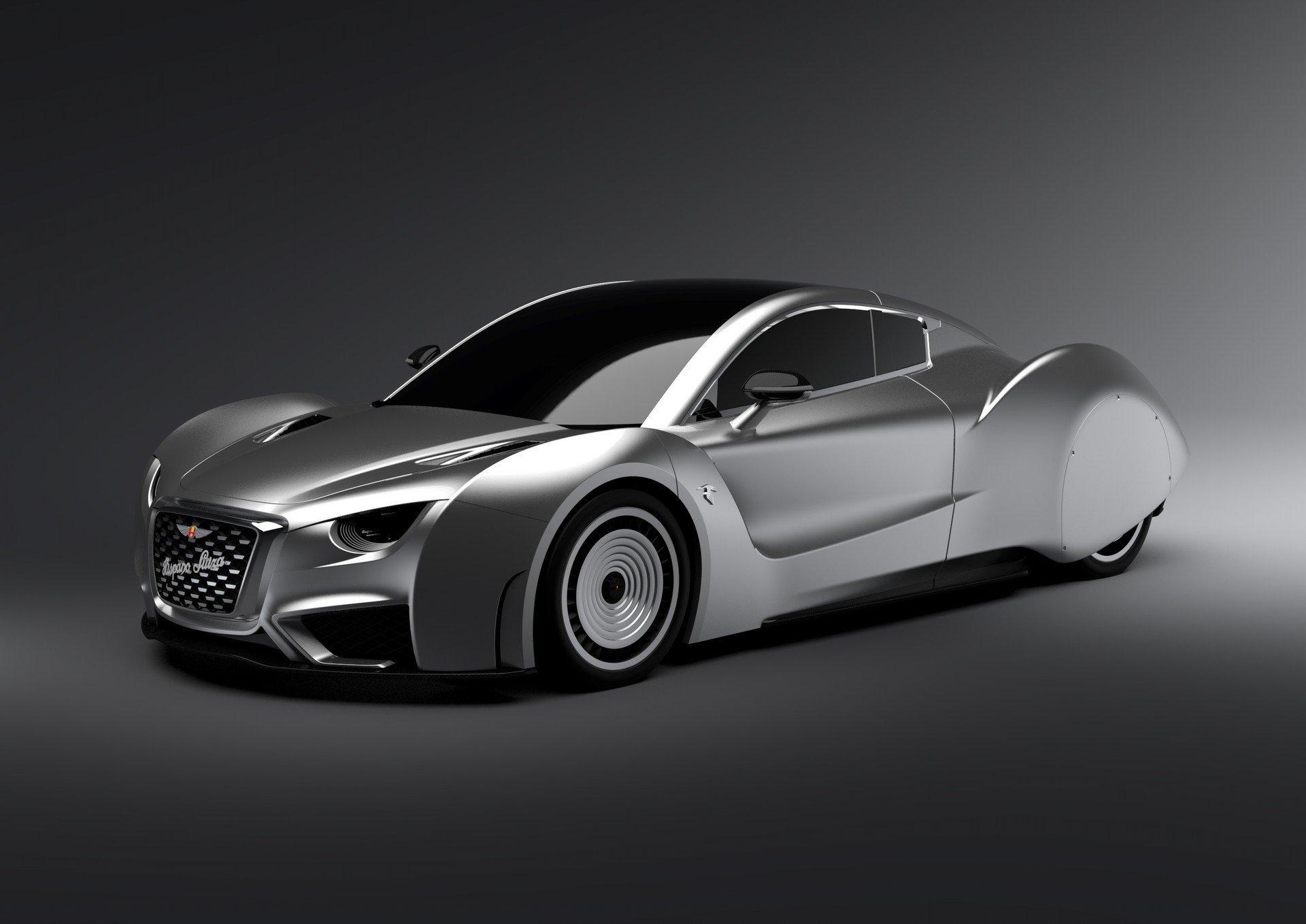 Hispano Suiza покажет новое электрокупе в Женеве
