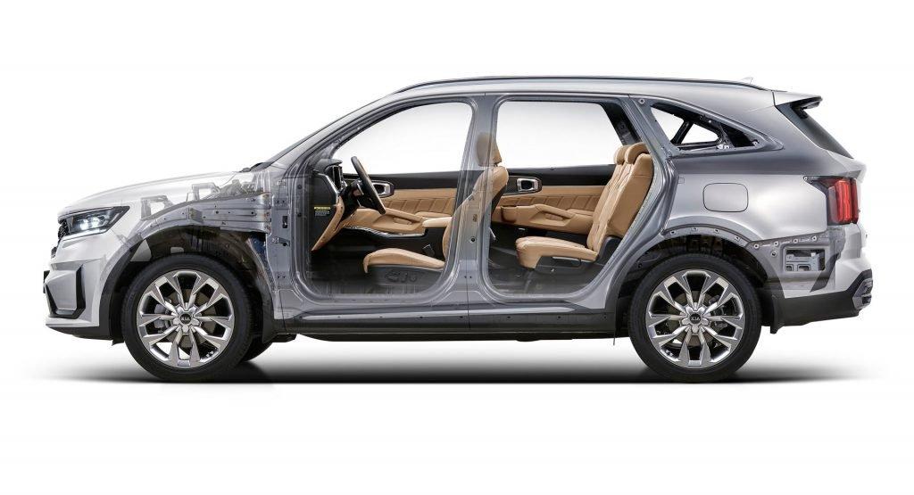 Новый Kia Sorento получит 1,6-литровый бензиновый мотор