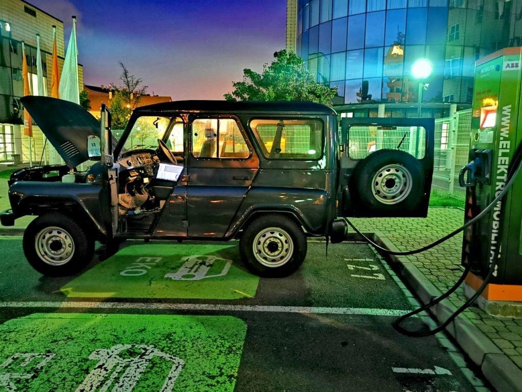 УАЗ «Хантер» получит электромотор в Европе