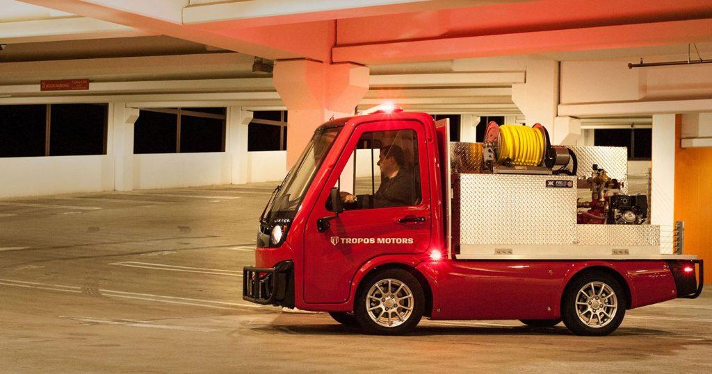 Panasonic и Tropos Motors показали электромобили для бизнеса eCUV