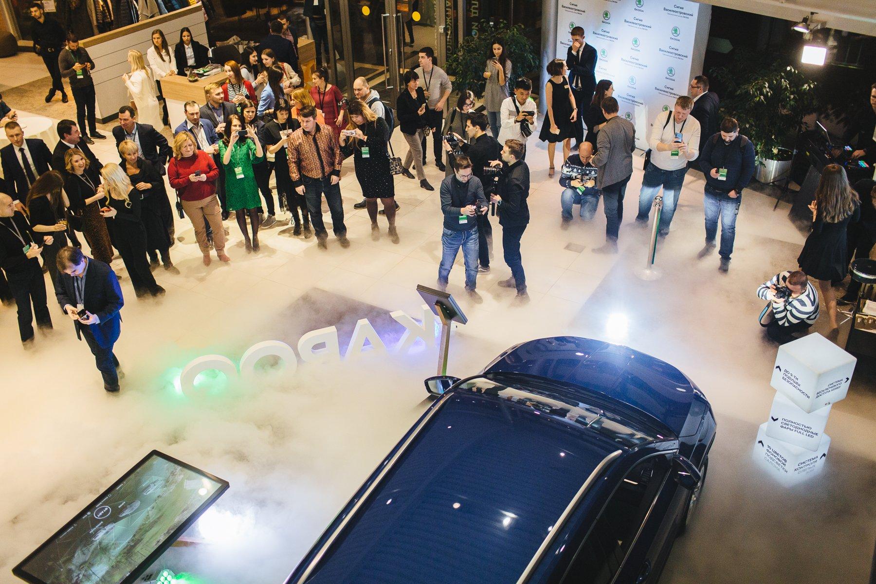 В Петербурге появился первый интерактивный шоу-рум Skoda