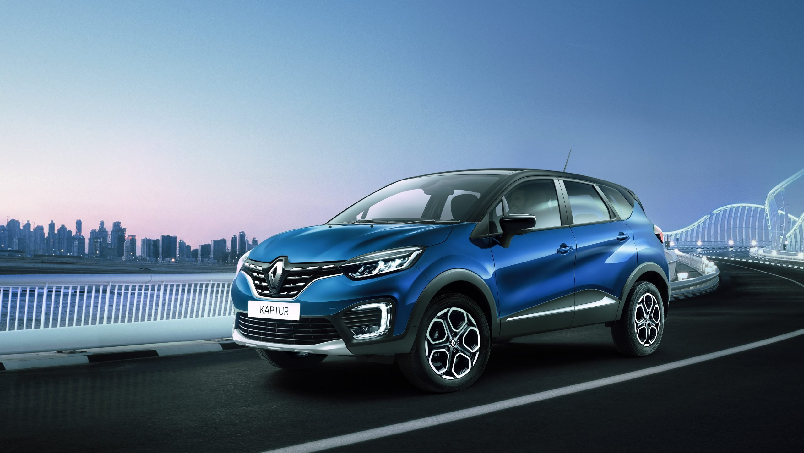 Кроссовер Renault Kaptur получит обновлённый интерьер и турбомотор