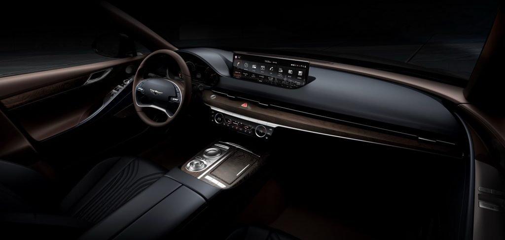Новый седан бизнес-класса Genesis G80 сделал ставку на дизайн