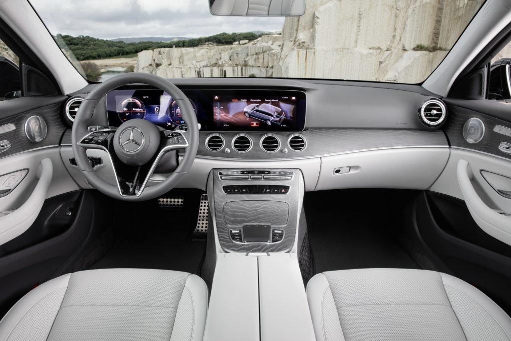 Обновлённый Mercedes E-Class получил рядную «шестёрку»