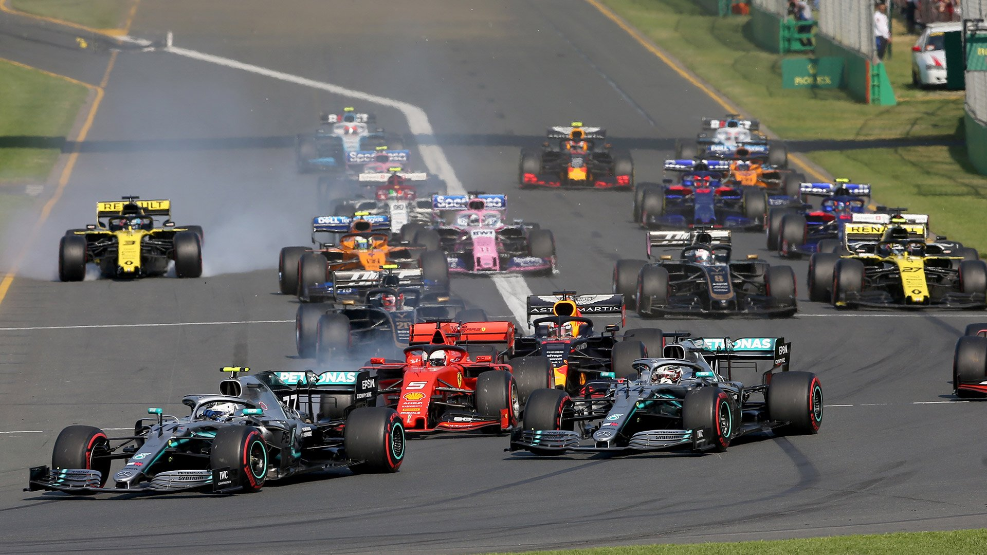 Гран-При «Формулы 1» сезона 2020 в Австралии отменён из-за коронавируса