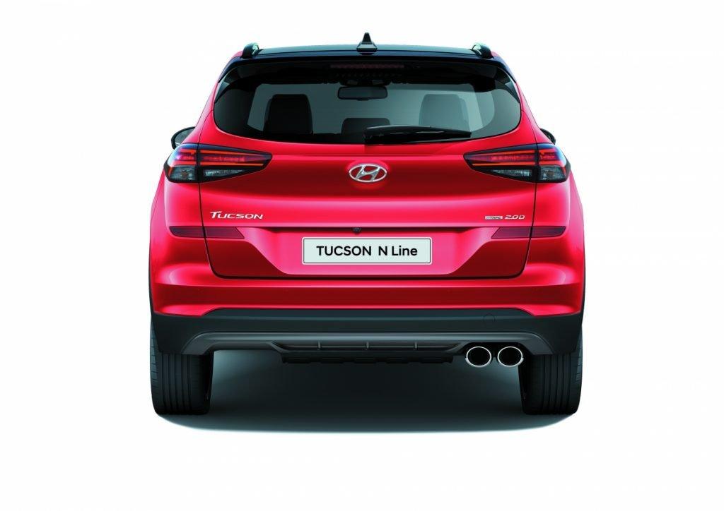 В России стартуют продажи спортивной версии Hyundai Tucson N Line