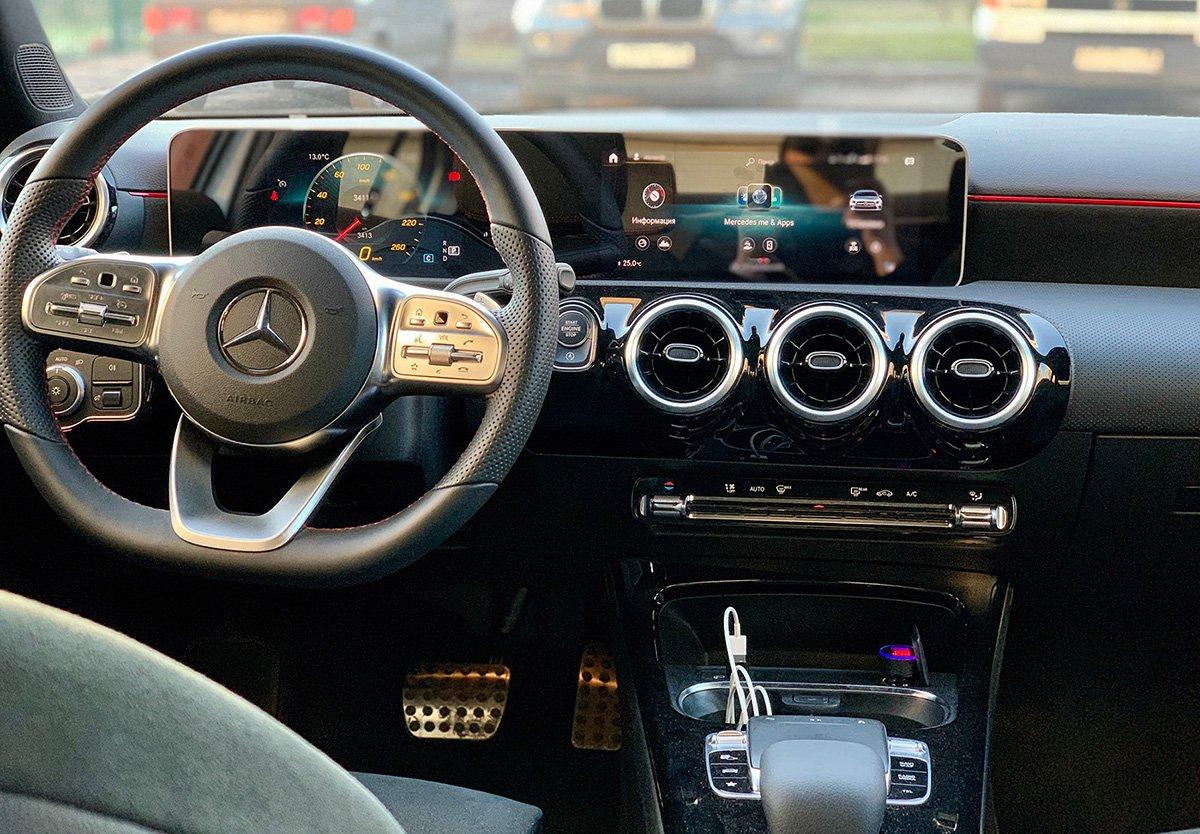 Купил седан Mercedes-Benz A-class: я в восторге! Друзья тоже оценили