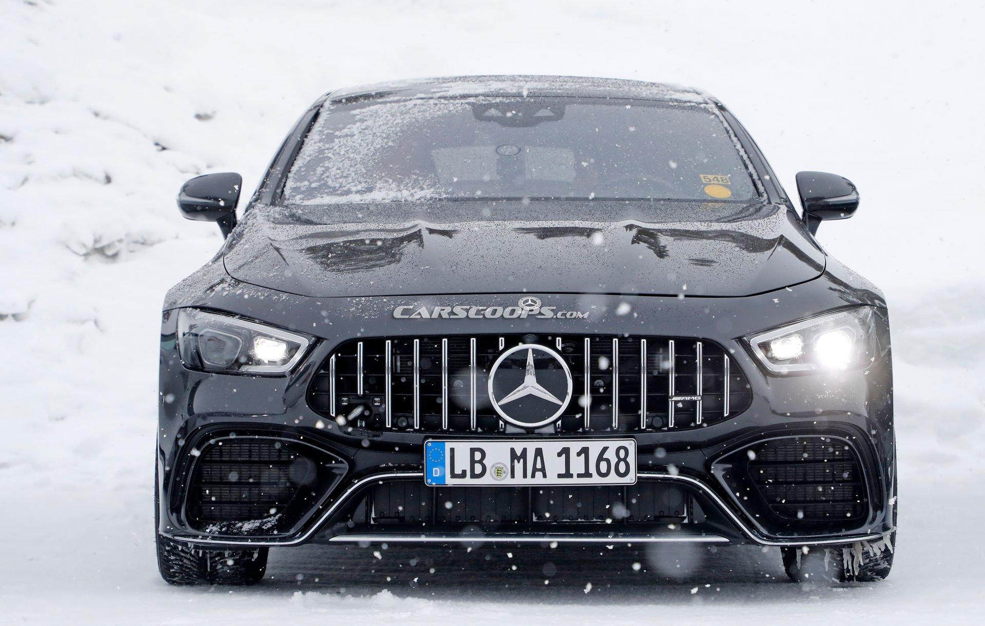 Mercedes выпустит 800-сильный AMG GT 73 в конце года