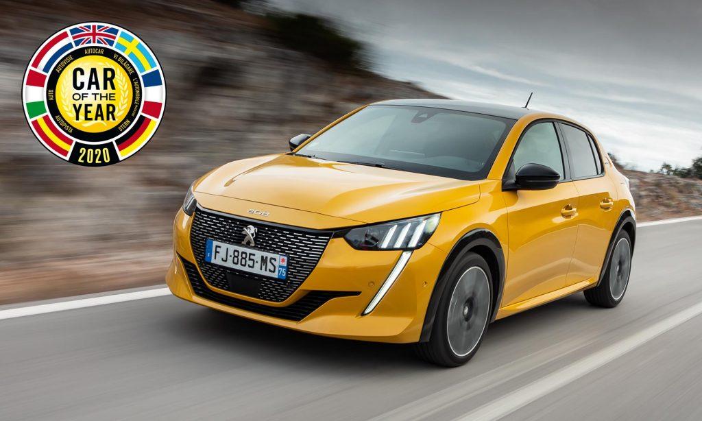 Peugeot 208 стал европейским Автомобилем года