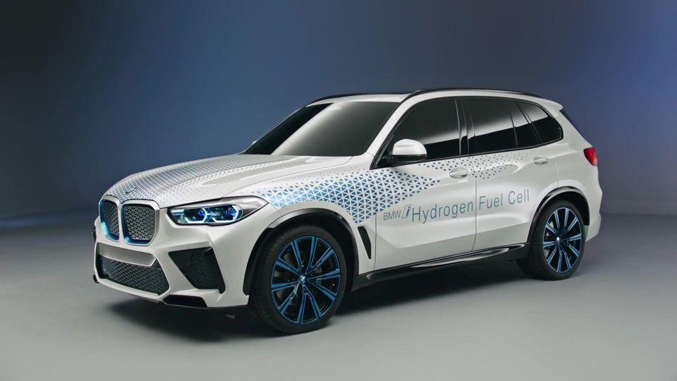 BMW верит в будущее водородных автомобилей