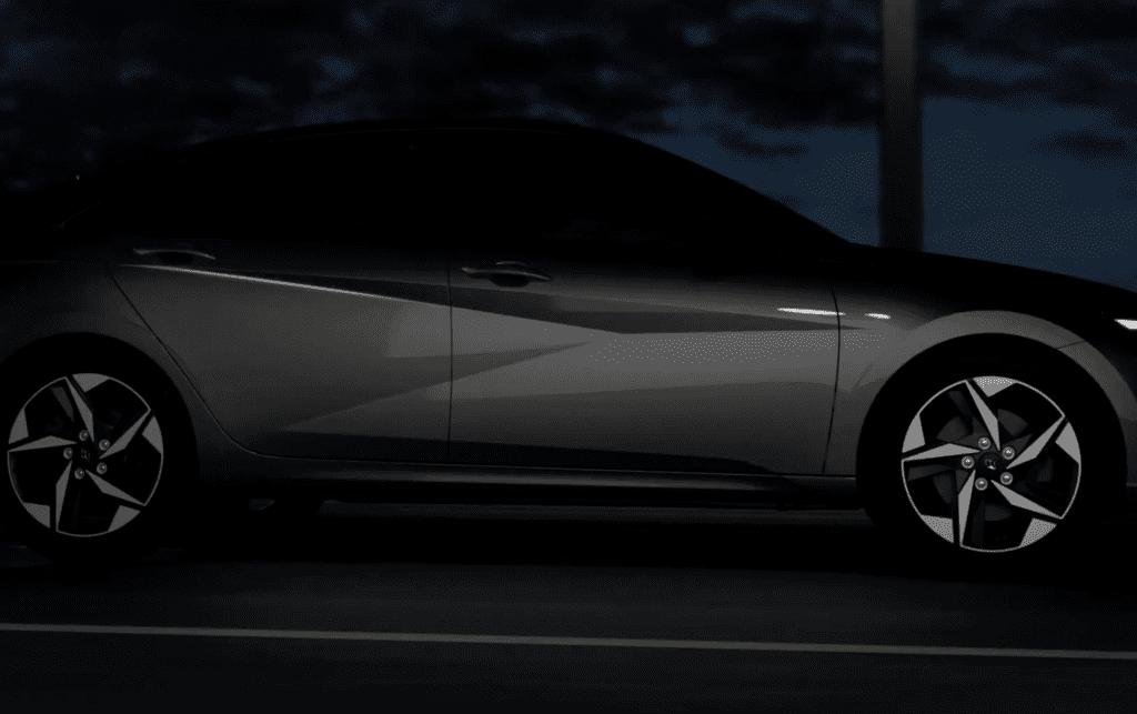 Hyundai готовит дебют нового поколения Elantra (видео)
