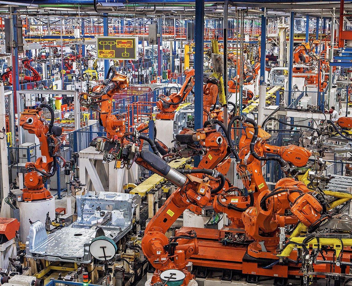 Турецкий завод Fiat в Бурсе, где собирают машины для России