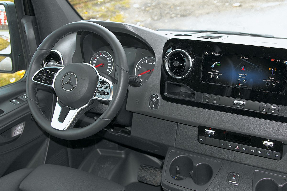 Проект кортеж: микроавтобус Mercedes-Benz Sprinter Tourer за 6 млн рублей