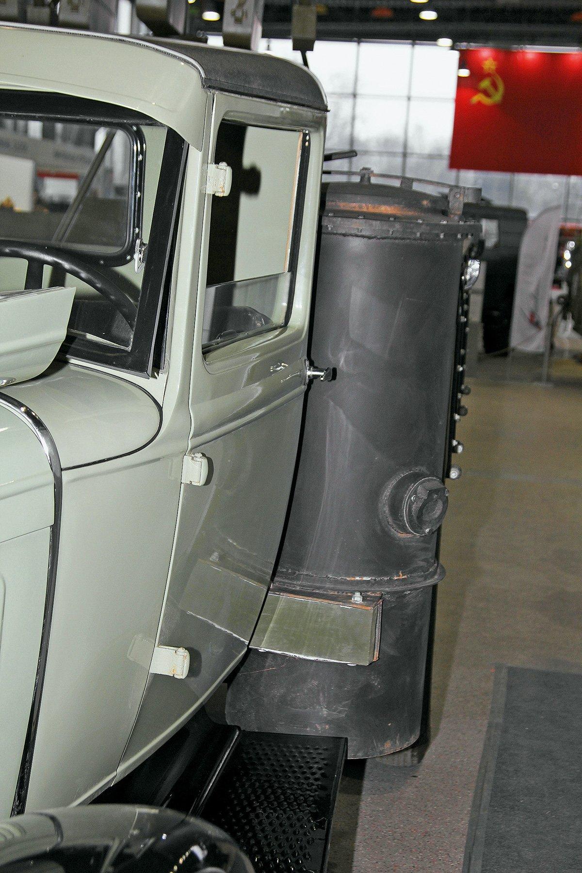 Газогенераторный ополченец: этот ГАЗ можно «заправлять» углём, дровами и даже торфом!