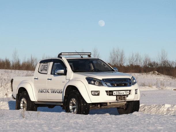 Isuzu и Arctic Trucks сделали экстремальную версию пикапа D-Max