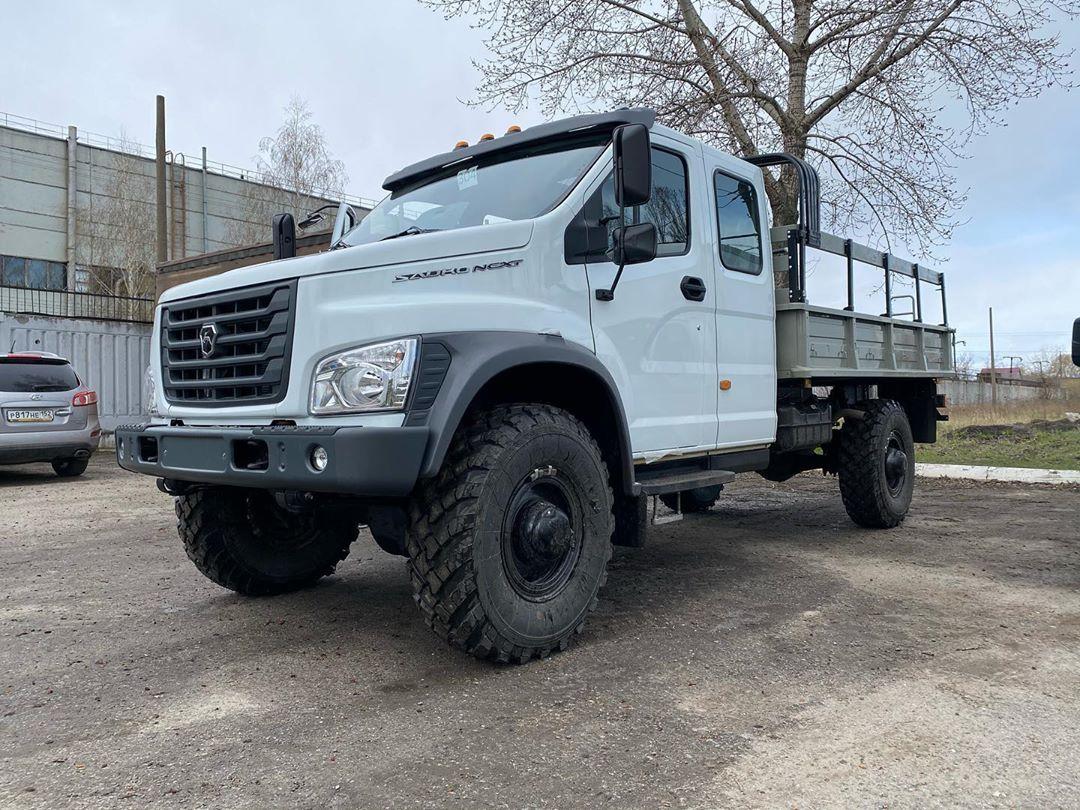 У грузовика «Садко» Next прибавление – появилась версия с двухрядной кабиной
