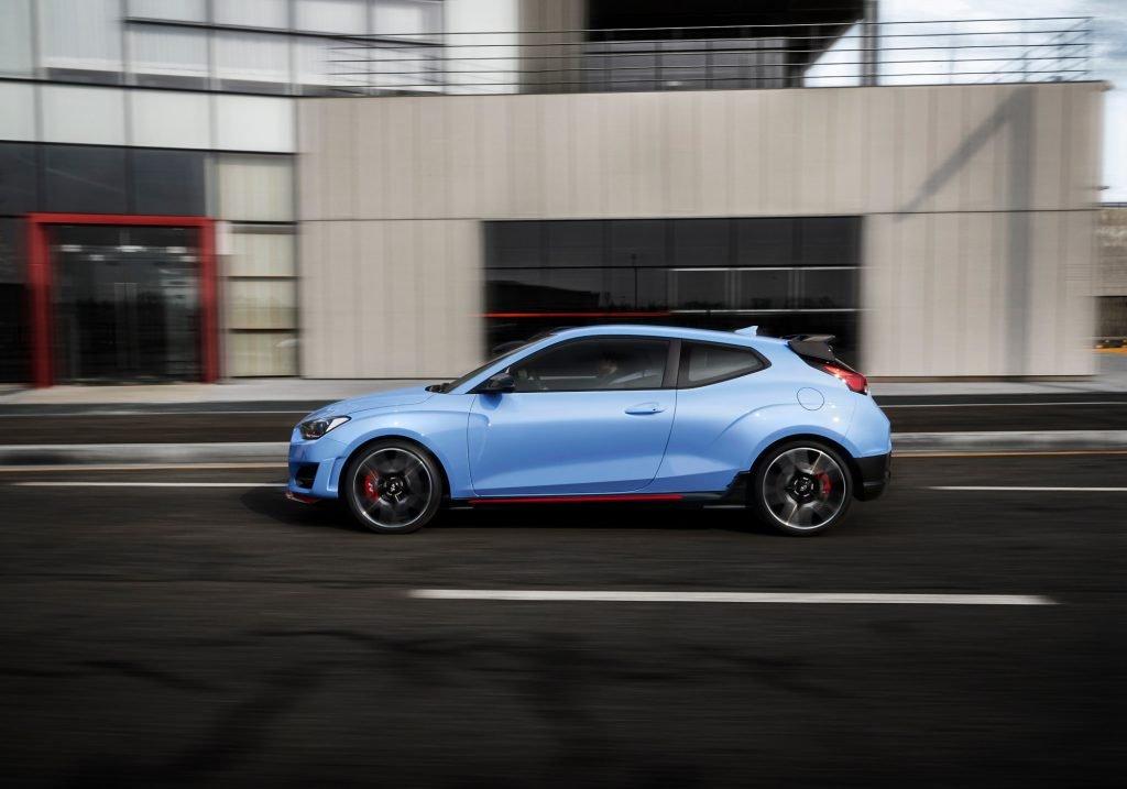 """Обновленный Hyundai Veloster N с """"роботом"""" обещает водителям особые ощущения"""