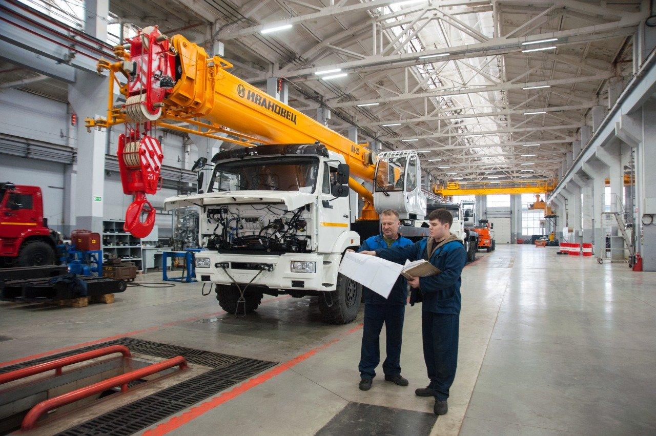 Ивановский машиностроительный завод «Автокран» возобновил работу