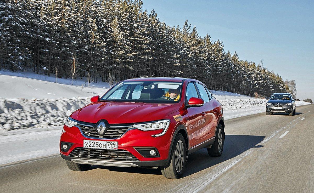 Как едет Renault Arkana: испытываем кроссовер на асфальте, бездорожье и льду